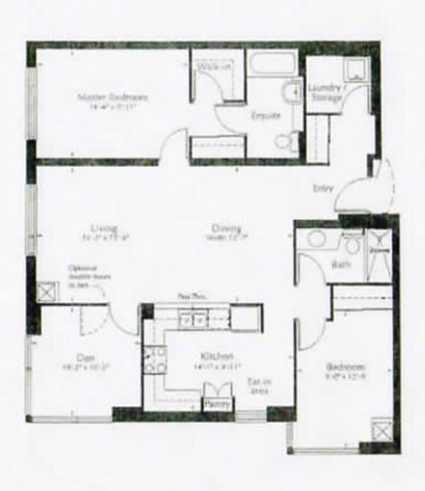 Image of cortleigh suite floor plan only