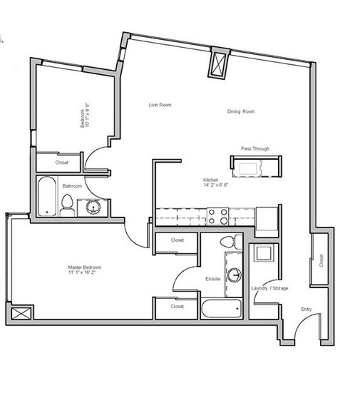 Image of wembley suite floor plan only