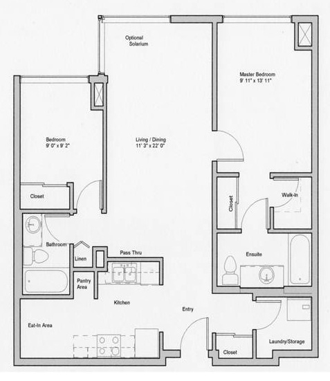 Image of Sultana suite floor plan only