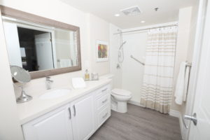suite image showing bathroom