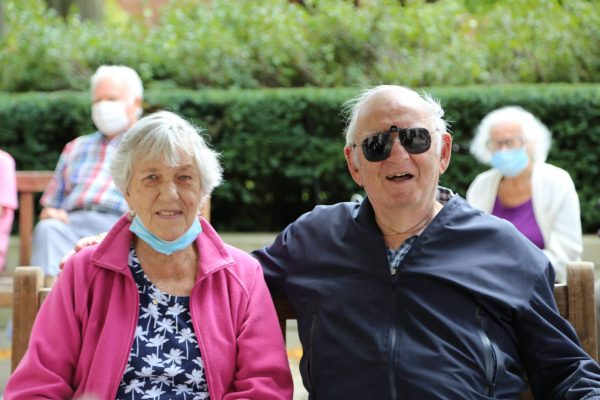 image 18 from hat parade - couple smiling into camera