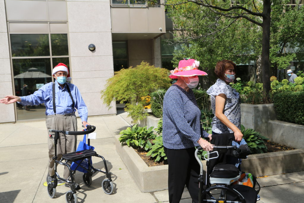 image 29 from hat parade - lady walking outside
