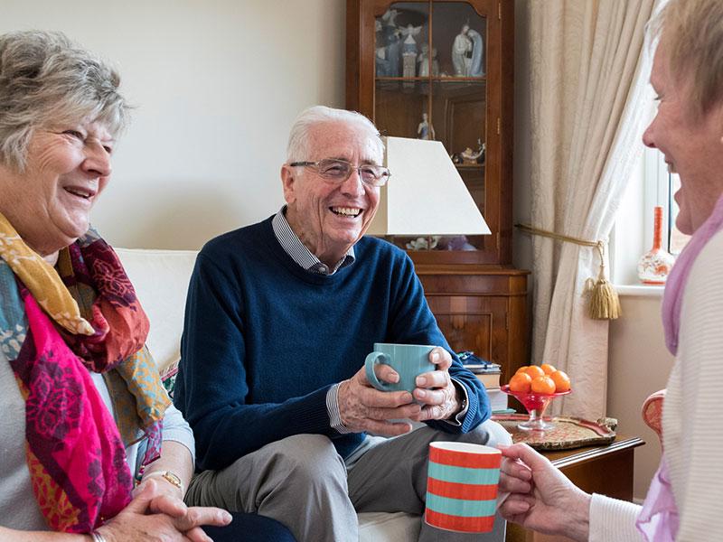 image of elderly group