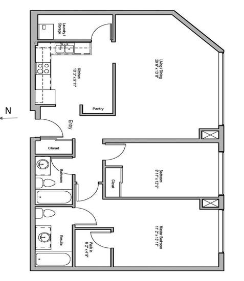 01-The-Sultana image of floorplan